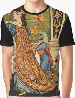 Beauty and the Beast by Walter Crane 1875 18 -  Graphic T-Shirt
