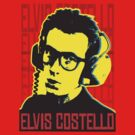 Elvis Costello  by BUB THE ZOMBIE