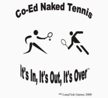 Co-Ed Naked Tennis One Piece - Short Sleeve
