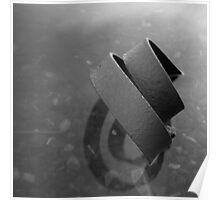 Bent metal strip, Bermondsey, 30 seconds Poster