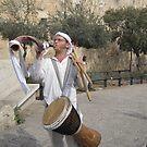 Jerusalem- Outside the Old City Walls by Patricia127