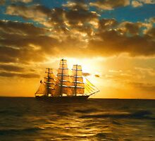 Cutty Sark by StratoArt