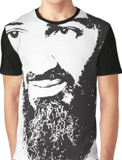 Osama Bin Laden, Silhouette Graphic T-Shirt