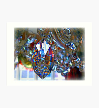 Crystal Refractions Art Print