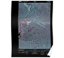 USGS Topo Map Washington State WA Pomona 20110502 TM Inverted Poster