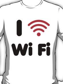 I Heart Wi Fi T-Shirt