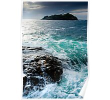 Godrevy Cornwall Poster