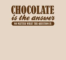 Chocolate Is The Answer Unisex T-Shirt