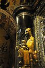 The Black Madonna, Montserrat, Spain by David Carton