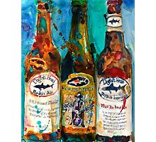 Dogfish Head Brewery Beer Art Print- Raison D'Extra - 90 Minute IPA - Punkin Photographic Print