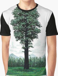 Giant Sequoia Portrait Graphic T-Shirt