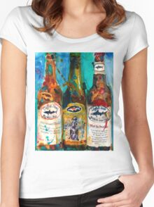 Dogfish Head Brewery Beer Art Print- Raison D'Extra - 90 Minute IPA - Punkin Women's Fitted Scoop T-Shirt