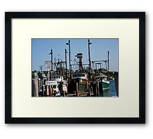 Menemsha Sister Ships Framed Print