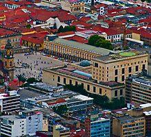 Plaza de Bolivar, Bogota, Columbia by bulljup