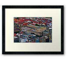 Plaza de Bolivar, Bogota, Columbia Framed Print