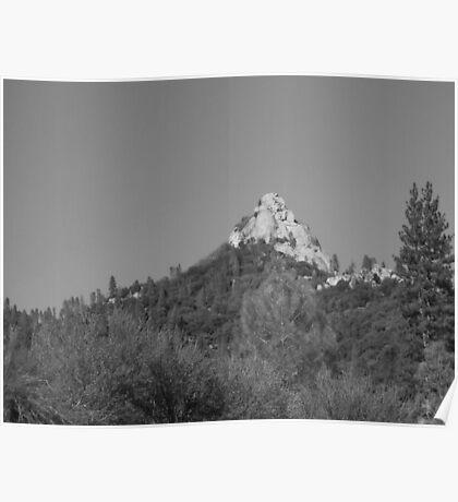 Moro Rock Kern Mountains Poster
