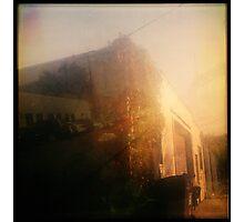 sunset storage Photographic Print