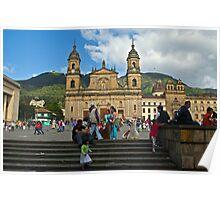 Catedral Primada, Bogota, Columbia Poster