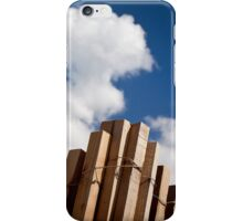 Wood fence - iPhone case iPhone Case/Skin