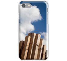 Wood fence - iPhone case iPhone Case/Skin