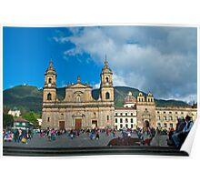 Catedral Primada, Bogota, Columbia2. Poster