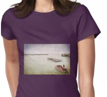 St Ives Harbour, Cornwall Womens Fitted T-Shirt