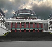 ☜ ☝ ☞ ☟ MUNICIPAL BUILDING IN CHONGQUING ☜ ☝ ☞ ☟  by ✿✿ Bonita ✿✿ ђєℓℓσ