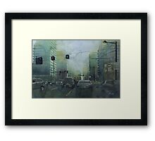 Early this morning Framed Print