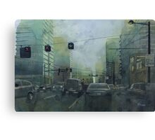 Early this morning Canvas Print