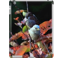 Contrasting cousins iPad Case/Skin
