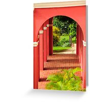 Old San Juan Archway Greeting Card
