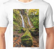Grey Mares Tail Waterfall Unisex T-Shirt