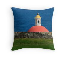Old San Juan, Puerto Rico Tomb Throw Pillow