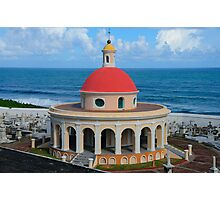 Old San Juan Dome Photographic Print