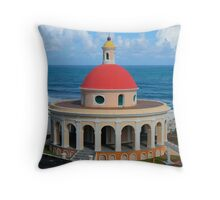Old San Juan Dome Throw Pillow