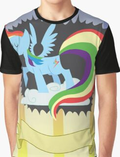 CMC Clubhouse - Rainbow Dash Poster Graphic T-Shirt