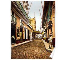 Calle de Habana, Cuba Poster