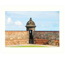 Old San Juan Gun Tower Art Print