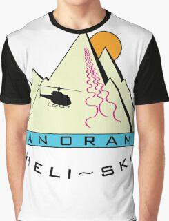West Coast Panorama Heli-ski Graphic T-Shirt
