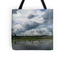 Majestic Clouds over Lake Tote Bag