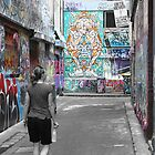 Melbourne Street Art by Bami