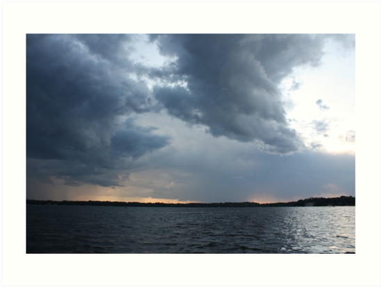 Threatening Clouds by Thomas Murphy