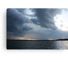 Threatening Clouds Canvas Print