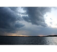 Threatening Clouds Photographic Print