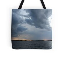 Threatening Clouds Tote Bag