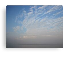 Guardian Angel Clouds Canvas Print