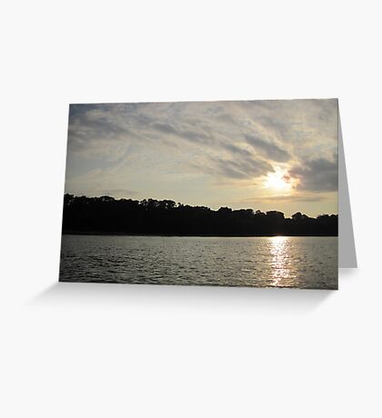 Fanciful Sun Cloudscape Greeting Card