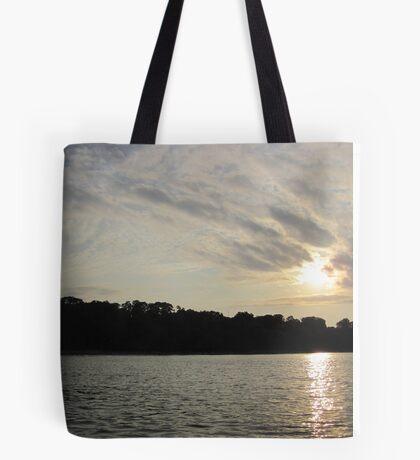 Fanciful Sun Cloudscape Tote Bag