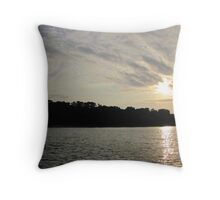 Fanciful Sun Cloudscape Throw Pillow