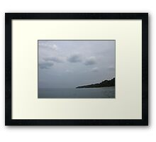 Pow Wow Clouds Framed Print